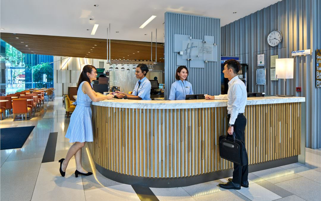 Hotel Interior Photography for Holiday Inn Express Orchard Singapore