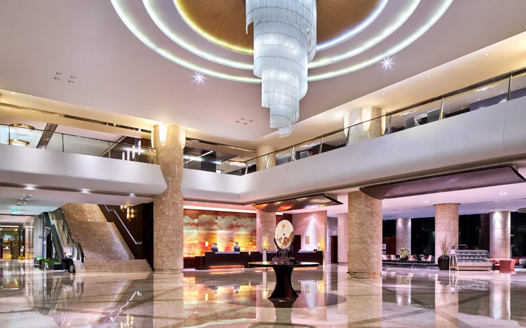 Hospitality Photography for Crowne Plaza Tianjin Binhai Hotel in China