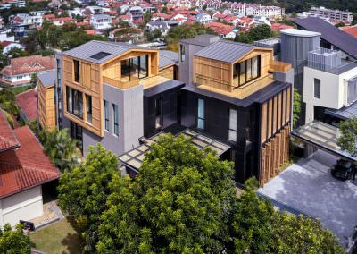 Aerial Architectural Photography Singapore 3 by 2 house - Aerial Photo 1 - 11-03 AM