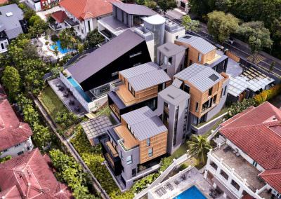 Aerial Architectural Photography Singapore 3 by 2 house - Aerial Photo 2 - 11-05 AM Cropped