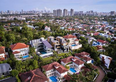 Aerial Architectural Photography Singapore 3 by 2 house - Aerial Photo 5 - 5-41 PM