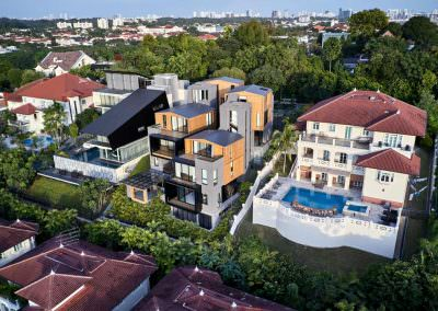 Aerial Architectural Photography Singapore 3 by 2 house - Aerial Photo 6 - 6-43 PM