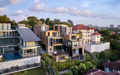 Architectural Aerial Photography – 3:2 House in Singapore