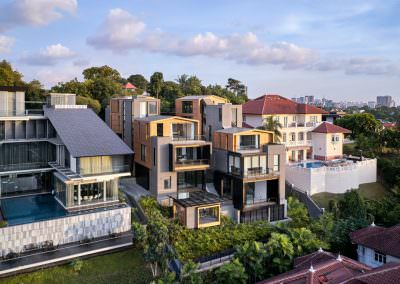 Aerial Architectural Photography Singapore 3 by 2 house - Aerial Photo 8 - 6-57 PM