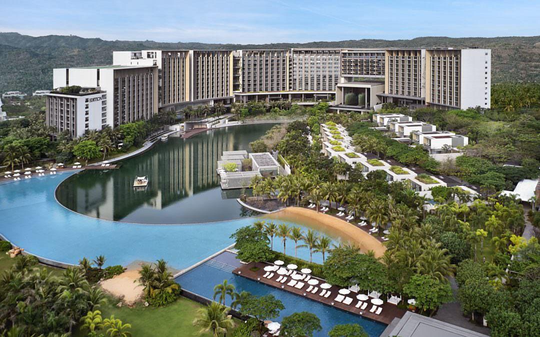 Aerial Photography at The Sanya Edition hotel in Hainan, China