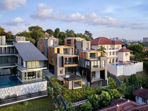 3:2 House in Singapore | Aerial Photography
