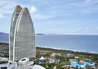 Aerial Photography - Aquarius Hotel Sanya 1