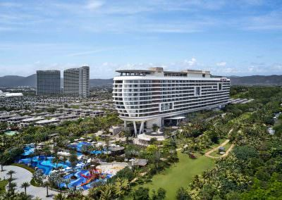 Aerial Photography - Crowne Plaza Sanya 1