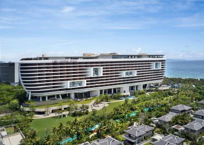 Aerial Photography - Crowne Plaza Sanya 2