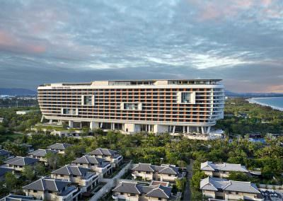Aerial Photography - Crowne Plaza Sanya 3