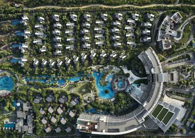 Aerial Photography - The Westin Sanya Haitang Bay Resort Aerial Photography