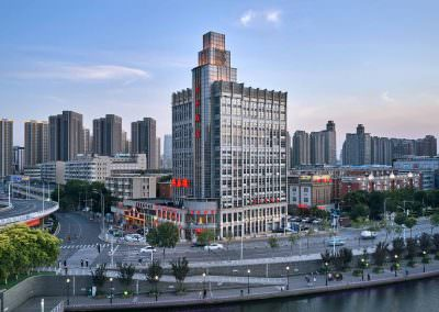 Aerial Photography - Tianjin Riverside