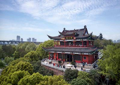 Aerial Photography - Wuhan Temple