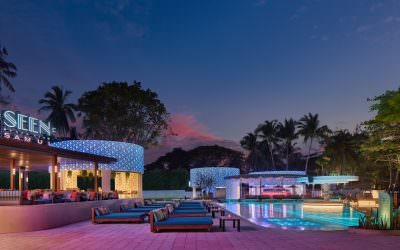 Architectural and Interior Photography for Seen Beach Club in Koh Samui, Thailand