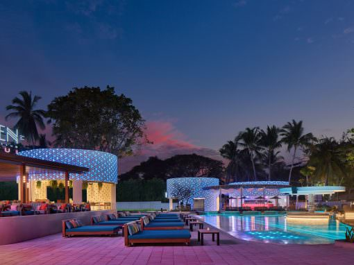 Seen Beach Club in Koh Samui, Thailand | Architectural and Interior Photography