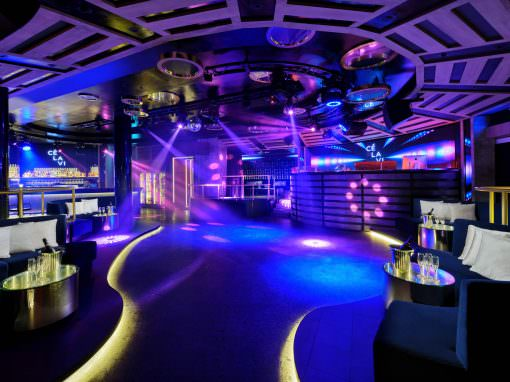CÉ LA VI Club Lounge and Nightclub in Singapore | Interior Photography