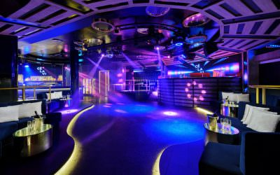 Architectural & Interior Photography for CÉ LA VI Club Lounge and Nightclub in Singapore