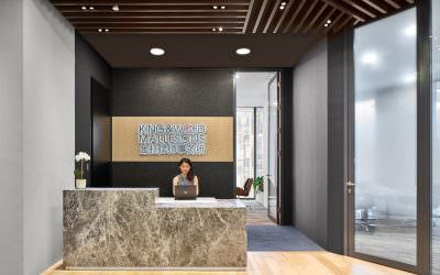 Workplace Photography for King & Wood Mallesons office in Singapore