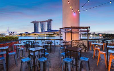 Interior Photography at Kinki Restaurant and Bar in Singapore