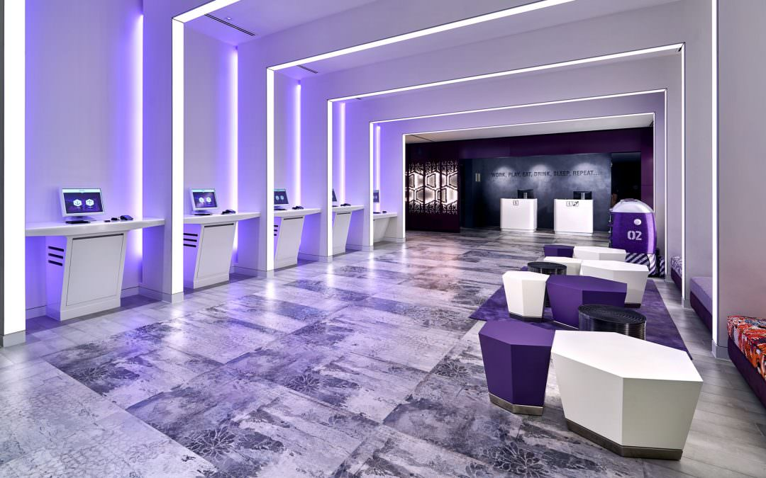 Architectural and Interior Photography for Yotel Singapore