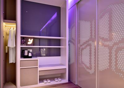33-Interior Photography Singapore-Yotel - Deluxe Room Bathroom Closed