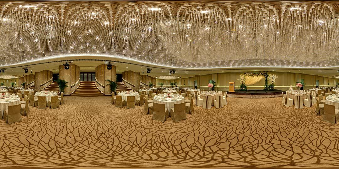 360 Virtual Tour for The Fullerton Ballroom in Singapore