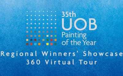 Art Gallery Virtual Tour of 35th UOB Painting of the Year Showcase