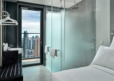 38-Interior Photography Singapore-Yotel - Queen with Balcony Bathroom