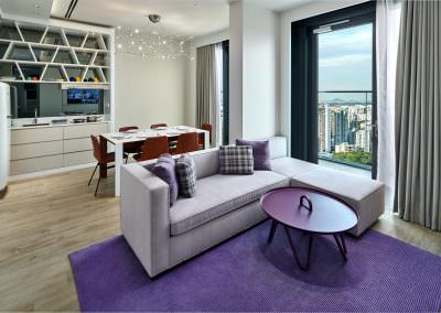 54-Interior Photography Singapore-Yotel - Suite Living Area 1