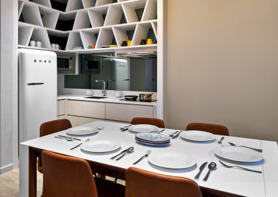 56-Interior Photography Singapore-Yotel - Suite Kitchen with Dining 1