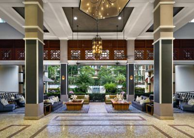 Architectural Photography Treetops Executive Residences Singapore - Hotel Lobby Hero Overview