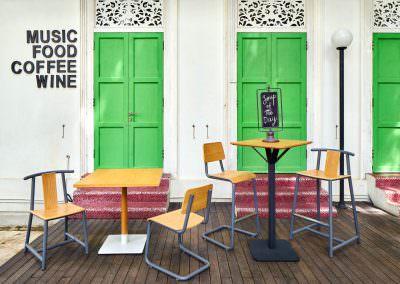 Editorial Photography Om Homes Singapore Haji Lane Green Doors