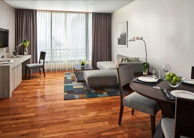 Frasier Suites Sukhumvit - 1 Bedroom Executive Living Dining 2303