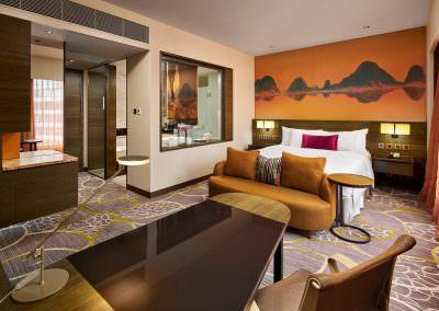 Hotel Interior Photography Hong Kong - Club King Hotel Room
