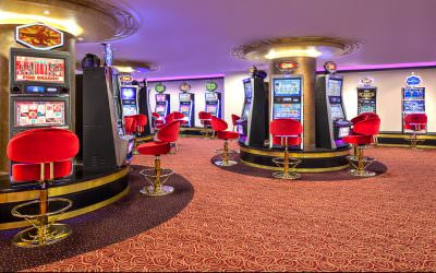 Interior Photography of the Jackpot Room at Orchid Country Club Singapore