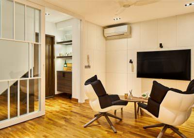 Interior-Photography-Simei-Rise-Condo-Singapore-Sliding-Door-Upstairs