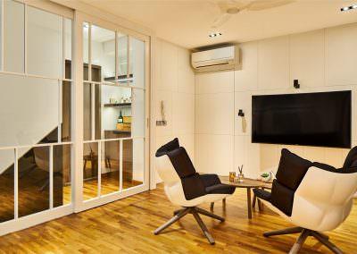 Interior-Photography-Simei-Rise-Condo-Singapore-Sliding-Door-Upstairs-Closed