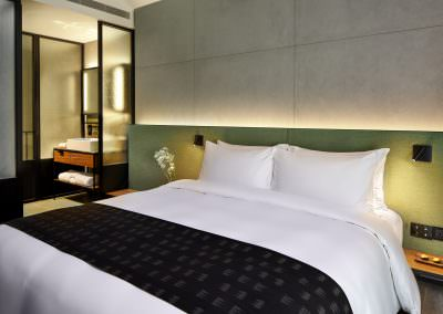 Astro Lighting Warehouse Hotel Singapore Bedroom with Bathroom