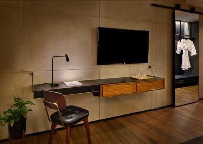 Astro Lighting Warehouse Hotel Singapore Hotel Room Desk with Television