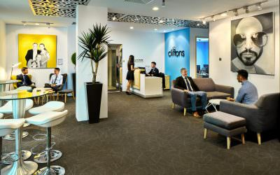 Interior Photography for Cliftons Singapore Venue Hire & Meeting Rooms