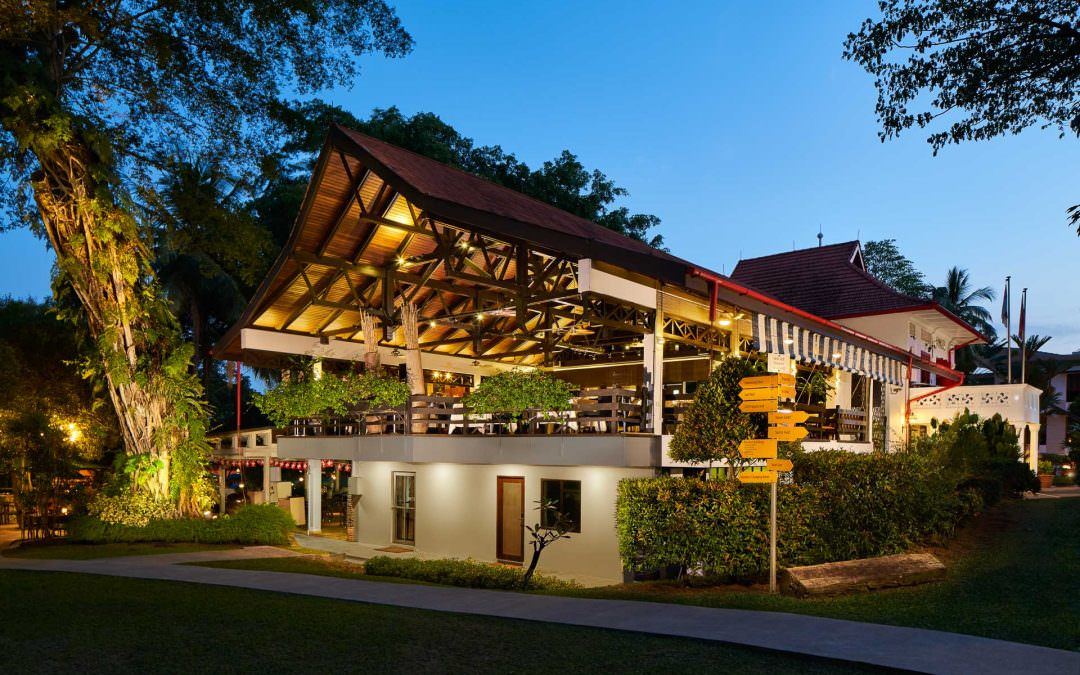 Architectural and Interior Photography for Swiss Club Singapore