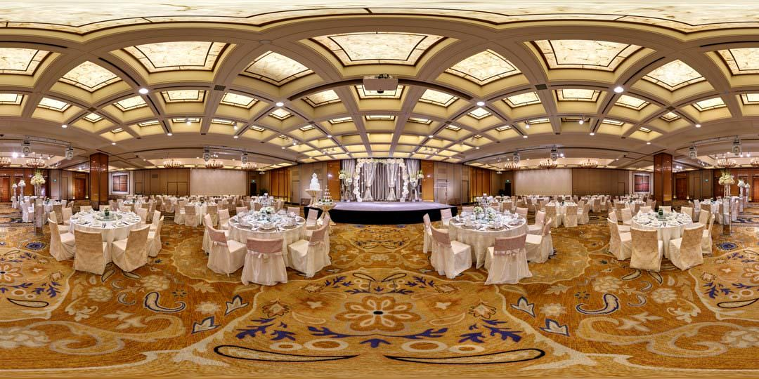 360 Virtual Tour for The Regent Hotel Royal Pavilion Ballroom in Singapore