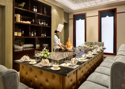 Restaurant Interior Photography Singapore - Private Dining - Tapanyaki