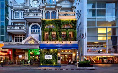 Architectural & Interior Photography at The Bar Upstairs, Bangkok