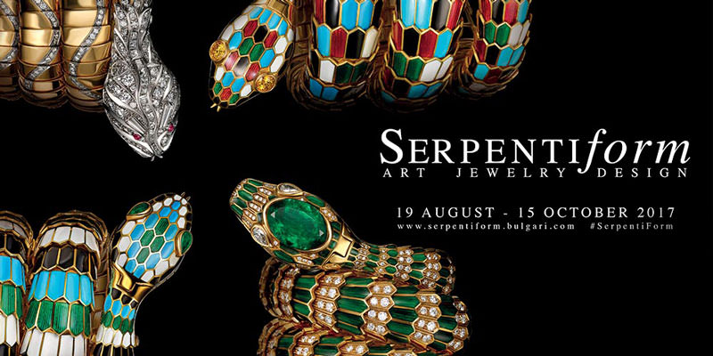 Bvlgari Serpentiform Exhibition Virtual Tour in Singapore