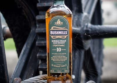 Bushmills 10 Year Single Malt Irish Whiskey consumed in Dublin,