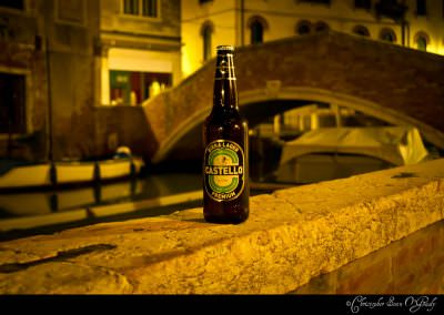 Castello consumed in Venice, Italy.  Love these Italian 66cl bot