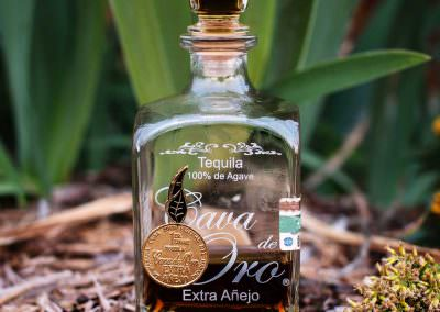 Cava de Oro Extra Anejo Tequila consumed in Waterford, Michigan.