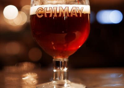 Chimay consumed in Brussels, Belgium.