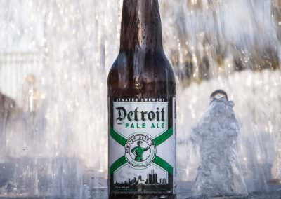 Detroit Pale Ale consumed in Detroit, U.S.A.
